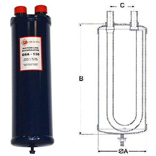 Qe 1-5/8 Suction Line Accumulator - Suction Line Accumulator