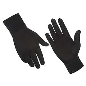ALASKA BEAR - Natural Silk Gloves Thermal Liner Unisex