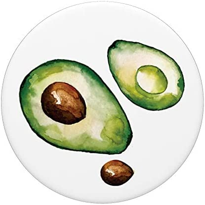 Agarre intercambiable para Tel/éfonos y Tabletas Linda Chica Aguacate Aguacate Mujer Aguacate Reina PopSockets PopGrip