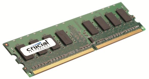 Crucial Technology CT25664AA800 2 GB 240-pin DIMM DDR2 PC2-6400 Memory (Pavilion Ddr2 Ram Upgrade)