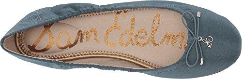 Sam Edelman Women's Felicia Ballet Flat Blue Shadow Silk Dupioni free shipping footlocker pictures discount nicekicks sale pick a best 1X4eKPZ