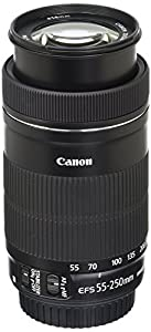 Canon EF-S 55-250mm F4-5.6 IS STM Lens for Canon SLR Cameras (Certified Refurbished) by Canon