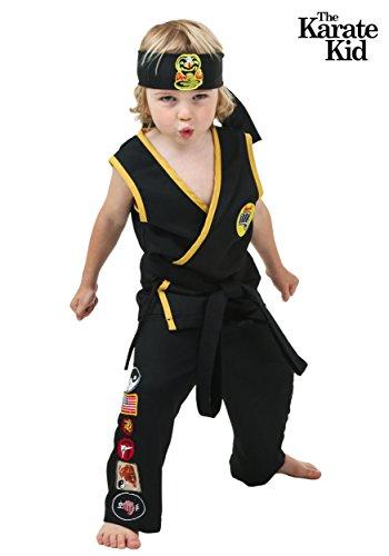 Toddler Cobra Kai Costume 4T (Kai Costume)