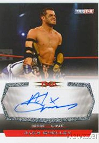 Alex Shelley 2008 Tristar TNA Cross the Line Wrestling #C-AS Hand Signed TNA AUTOGRAPH Limited Edition CARD in MINT Condition! Shipped in Ultra Pro Top Loader to Protect it! -