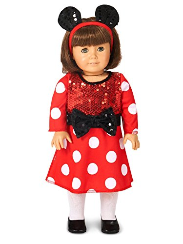 Unique Doll Costume (Red and White Mouse 18