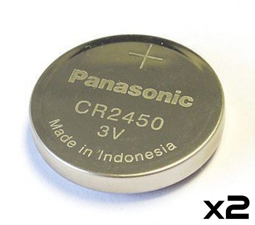 Panasonic Cr2450 Cr 2450 Lithium 3v Battery
