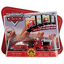 Disny Cars Mini Adventures Fire Department - Doc Hudson + Red by Mattel