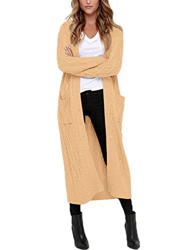 Dokotoo Womens Casual Cardigan Sweater