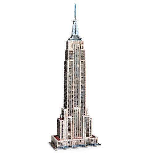 Wrebbit 3D Empire State Building Jigsaw Puzzle by Wrebbit 3D