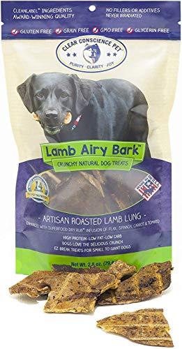 - Clear Conscience Pet Lamb Airy Bark, 2.8 Oz