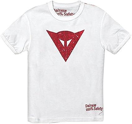 Camiseta Niño de Algodón con logo Dainese Camiseta, blanco, XL ...