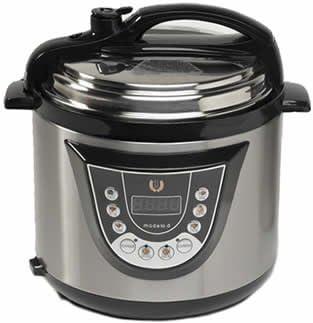 "Cocina Programable Gm Modelo D 2013 Funcion Freidora y Función de Voz """" 6 Litros: Amazon.es: Hogar"