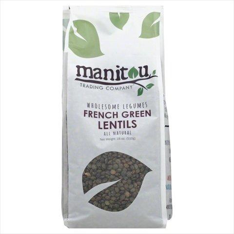 Manitou 18 oz. Bean Lentil Green French, Case Of 6