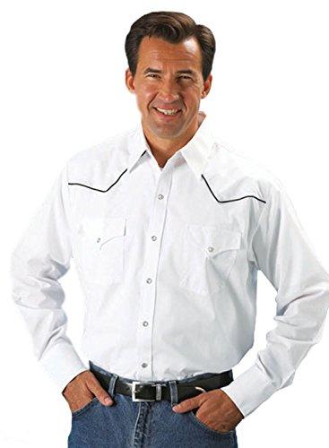 Long Sleeve Western Yoke Snap Shirt Medium (Western Yoke)