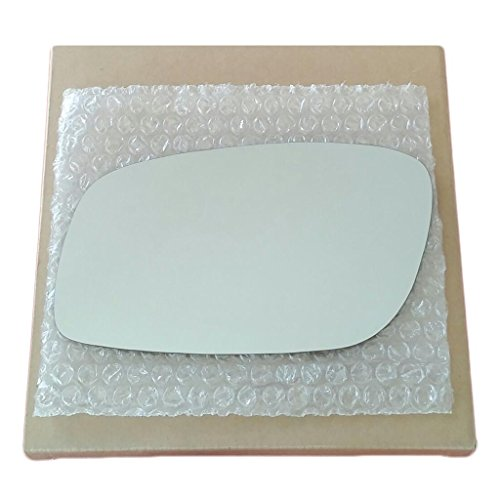 Mirror Glass and ADHESIVE | 1998 - 2011 Lincoln Town Car Driver Left Side - AUTO DIM FIT OVER