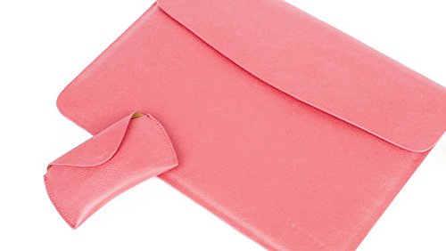 YiJee Fundas Blanda Portátil Protectora Bolsa para Ordenador Portatil 13 Pulgada Pink