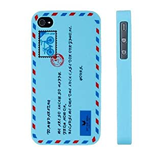 Ships in 24 hours sold out English Letter Pattern Silicon Case for iPhone 4/4S (Assorted Colors) , Yellow