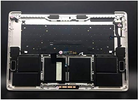 "Silver A1706 Top Case for Macbook Pro Retina 13/"" Touchbar Palmrest US Keyboard"