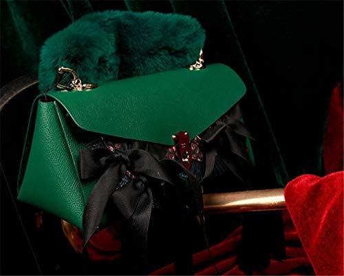 Donna sided Messenger Bag Cinghia Eyewear jaycel Mucca A Pelle Spalla Fashion Maska9 Double In Borsa Catena Originale Design Borsa mediumbag Riposizionabile Ginny Mano Tracolla qt85wxEw