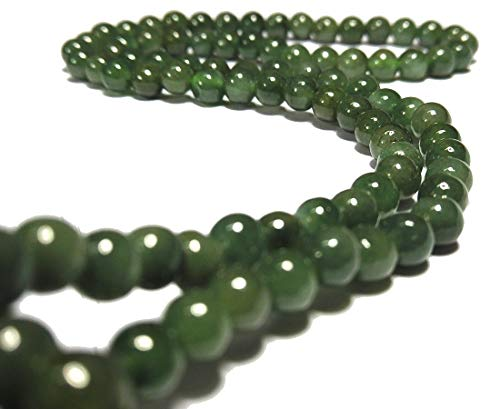 Jade Beads Necklace Earring - Karatgem Jewelry 18