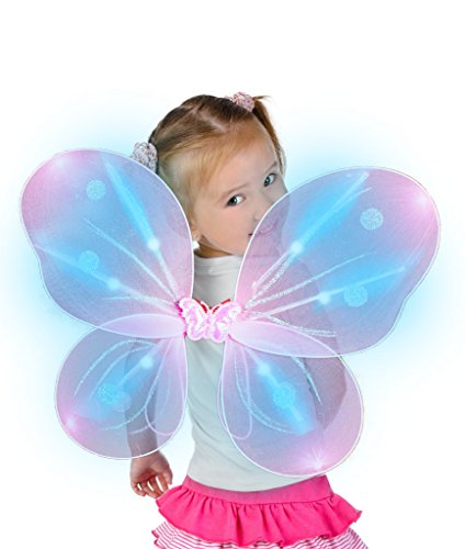 LED Light Up Butterfly Wings for Kids' & Toddlers&