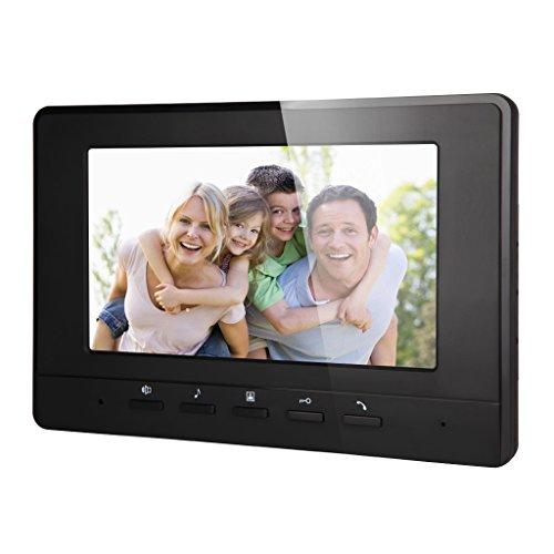 Blesiya 7inch LCD Camera Video Doorbell Intercom Monitor Safety US Standard - Black by Blesiya (Image #3)