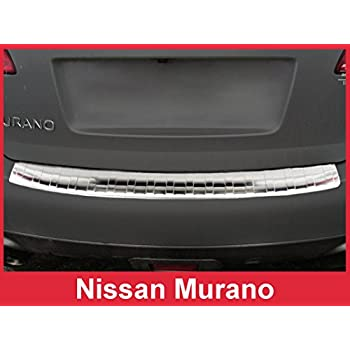 VGRBG-1018-0544SS Stainless Steel Double Layer Rear Bumper Guard compatible with 09-18 Nissan Murano