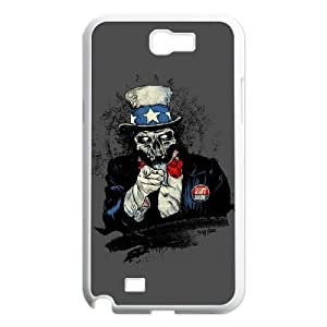 TOSOUL Skull Art 2 Phone Case For Samsung Galaxy Note 2 N7100 [Pattern-4]