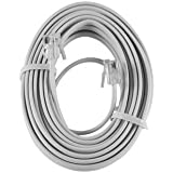 Conectol 8ft Self-Retracting Phone Cord PRECO CM1288520088 In-Line Clear Discontinued by Manufacturer