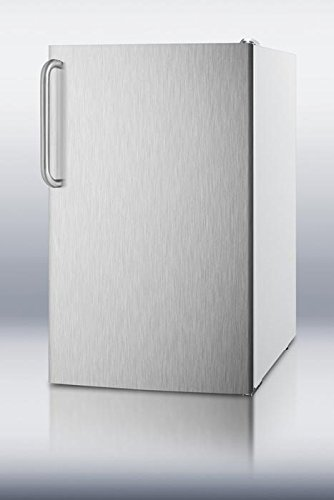 FS407LXSSTB 20'' 2.8 cu.ft. Capacity Under Counter Upright Freezer Manual Defrost -20 Degree Capable Pull-out Drawers: Stainless Steel