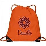 Flower Child Danielle: Port & Company Drawstring Bag