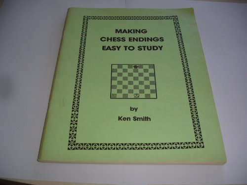Making Chess Endings Easy to Study