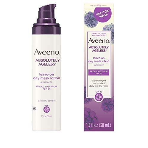 Aveeno Absolutely Ageless Leave-on Day Mask Face Lotion with
