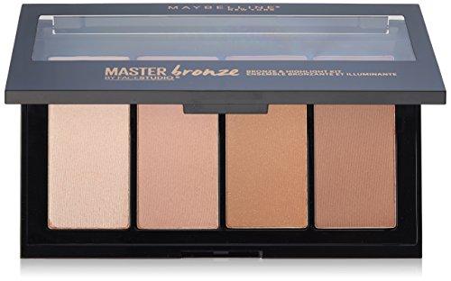 Bronzer And Highlighter Palette - 9