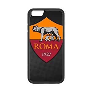 iphone6 4.7 inch phone case Black As Roma Logo EDA6815679