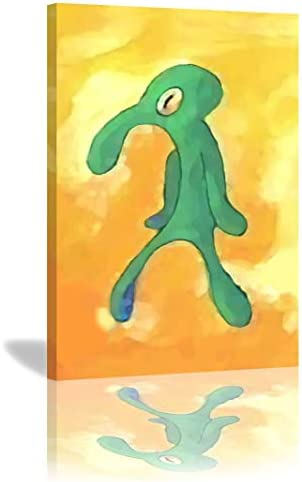 Bold And Brash Canvas Print Paintings Wall Art Home Decoration Stretched and Framed Ready to Hang 24×36 Inche