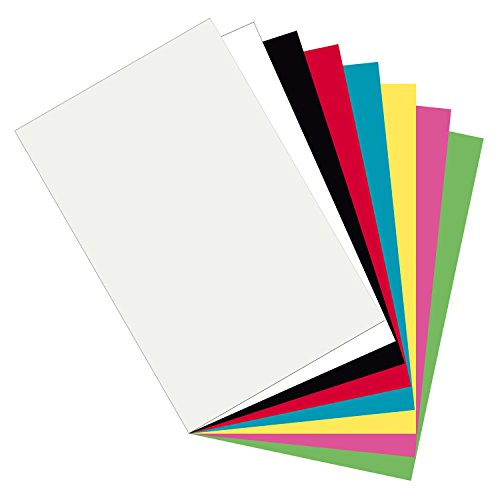 - Pacon  Plastic Art Sheets, Assorted 8 Colors,  11