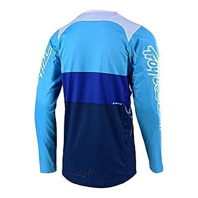 Troy Lee Designs Men's Off-Road Motocross Motorcycle SE Beta Jersey (Blue, X-Large): Automotive
