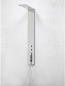 Compuesto de ducha acero inoxidable Kira Bianca par degeo ...