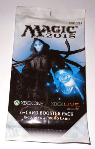 Magic the Gathering - M15 2015 Xbox Promo Booster Packs - Sealed - Single Pack .HN#GG_634T6344 G134548TY22228
