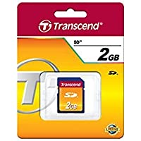 TRANSCEND 2GB SECURE DIGITAL CARD RETAIL