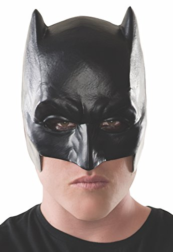 Rubie's Men's Batman v Superman: Dawn of Justice Adult Half Mask, Multi, One (Batman Zombie)