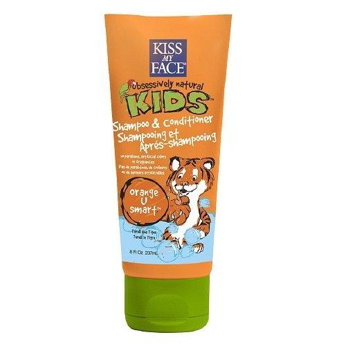 Face Kids Shampoo (Kiss My Face Kids Shampoo & Conditioner 8oz Tube Orange-U-Smart (3 Pack))