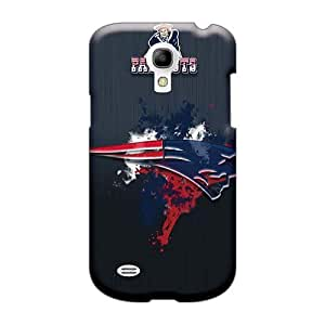 Scratch Protection Hard Phone Cover For Samsung Galaxy S4 Mini (kQx834rcIE) Allow Personal Design Trendy New England Patriots Series
