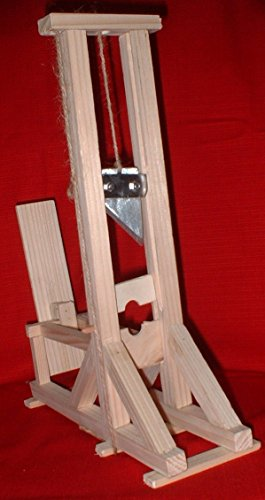 Maquette fonctionnelle de guillotine