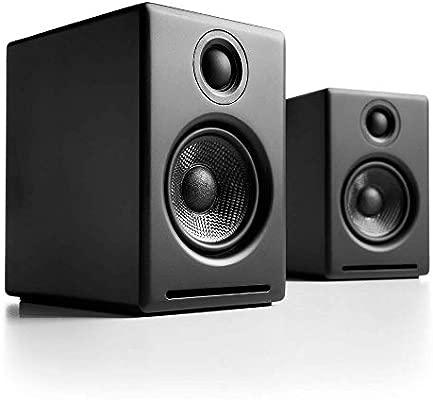 Audioengine A2+ Wireless 60W Altavoces de Ordenador con tecnología Avanzada | DAC y Amplificador Incorporado de 24 bits | Bluetooth aptX Codec, ...