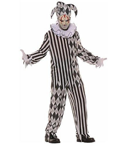 Evil Harlequin Jester Adult -