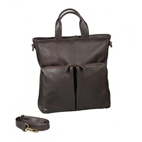 Harness Cowhide Leather Tote (Winn Harness Cowhide Leather All Purpose Tote/Back Pack - Brown)