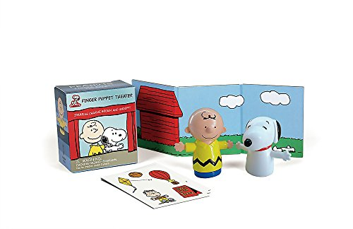 Peanuts Finger Puppet Theater: Starring Charlie Brown for sale  Delivered anywhere in USA