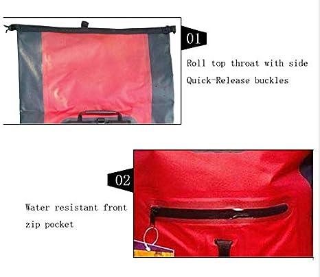 2df1cb5459ac Amazon.com : WANGYONGQI 32L Outdoor River Trekking Bag Dry Bag ...